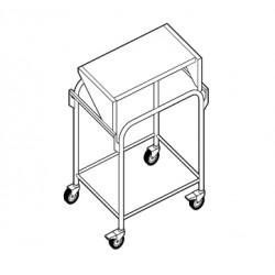 Chariot porte sturcture à plateau fixe - ACS011