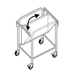 Chariot porte sturcture à plateau amovible - ACR011