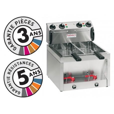 Friteuse électrique de table - 2x5 litres - Valentine - BB55