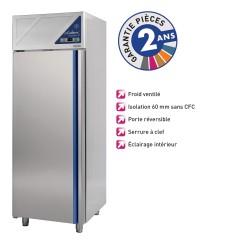 Armoire réfrigérée négative -18/-22°C - 600 L - Sans groupe logé - Dalmec