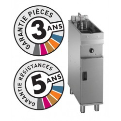 Friteuse électrique sur coffre - 9-10 litres - Valentine - EVO250