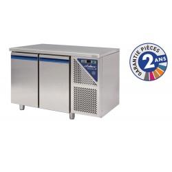 Desserte réfrigérée positive 0/+10°C - 230 L - 2 portes - Avec groupe logé - Dalmec