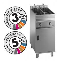 Friteuse électrique sur coffre - 2x 7-8 litres - Valentine - EVO2200