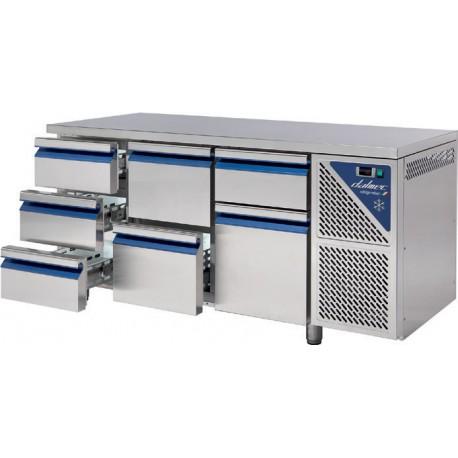 Supplément pour Kit 2 tiroirs 1/3+2/3 monté d'usine - DAC23-2