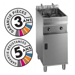 Friteuse électrique sur coffre - 15-18 litres - Valentine - EVO400T