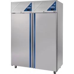 Armoire réfrigérée double température GN 2/1 -2/+10°C / -2/+10°C - 1400 L - 2 portes pleines - Dalmec - DA1400PP-2