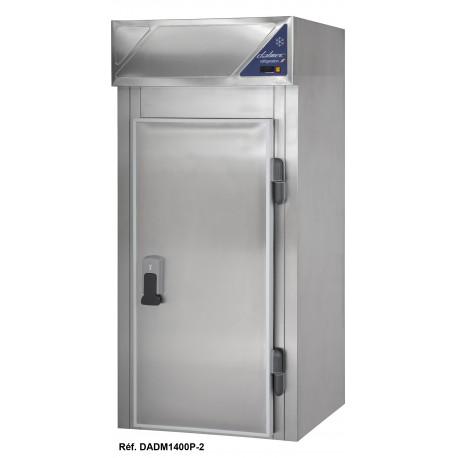Armoire démontable positive 0/+10°C - 1400 L - 1 porte pleine - 1000 x 1000 - Dalmec