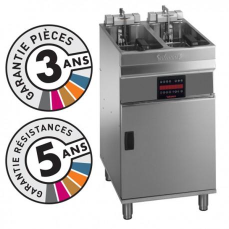 Friteuse électrique sur coffre - 2x 9-10 litres - Valentine - EVOC2525T