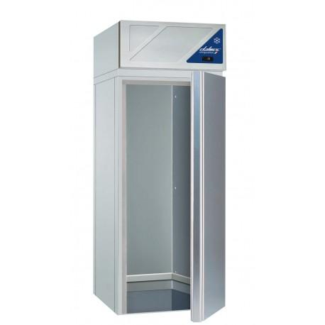 Armoire réfrigérée à chariot positive 0/+10°C - 2000 L - 1 porte pleine - 600 x 800 - Dalmec