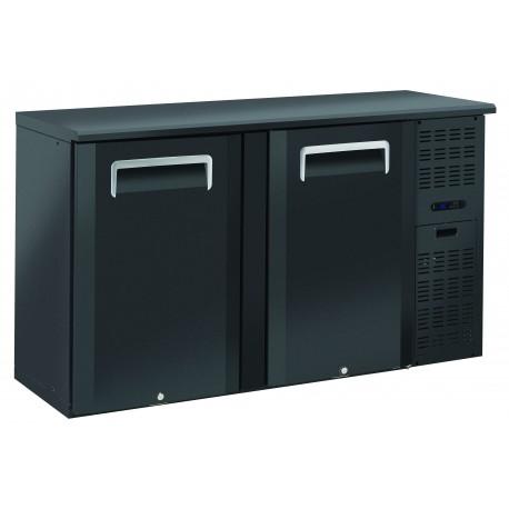 Arrière-bars Skinplate - 2 portes pleines - 315 litres - 4 étagères - Groupe logé - AB200 - Nosem