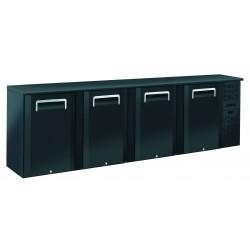 Arrière-bars Skinplate - 4 portes pleines - 618 litres - 8 étagères - Groupe logé - AB400 - Nosem