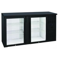 Arrière-bars Skinplate - 2 portes pleines - 315 litres - 4 étagères - Groupe logé - AB200V - Nosem