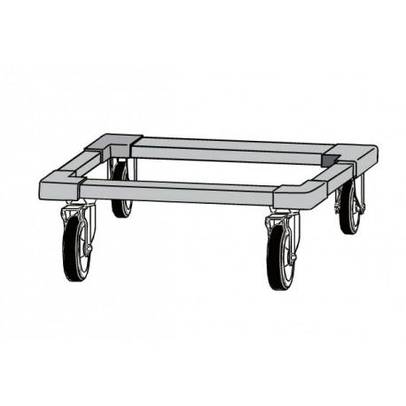 Chassis à roulettes pour tiroirs et armoires de maintien au chaud - ATR004 - Moduline