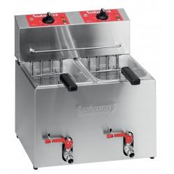 Friteuse électrique de table - 2 x 5 litres - Série TF - TF55 - Valentine