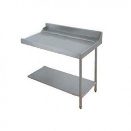 Table lisse pour machines à capot panier 500 x 500 et panier 600 x 500 - PAP707G