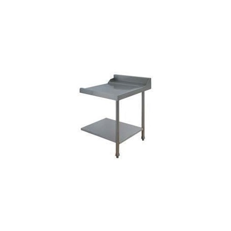 Table lisse pour machines à capot panier 500 x 500 et panier 600 x 500 - PAP712D