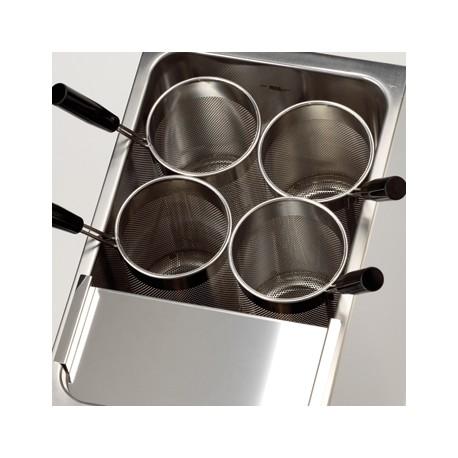 Panier rond 140 mm de diamètre pour cuiseurs à pâtes