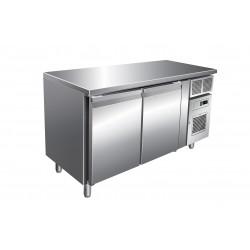 Table réfrigérée négative 313 L - 2 portes - Avec groupe logé - Nosem