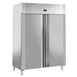 Armoire réfrigérée négative - 18°C / - 22°C - 1400 litres - 2 portes pleines - AW1400BT