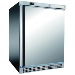 Armoire réfrigérée positive Inox - 1 porte pleine - 130 L - A201TNIX - Nosem