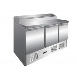 Saladette réfrigérée positive 425 L - 3 portes - Avec groupe logé - PS301 - Nosem