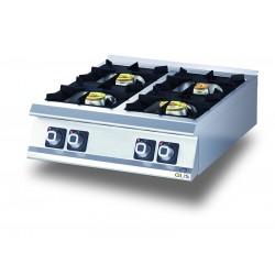 Plaque de cuisson - Top 4 feux gaz - DIAMANTE 90 - OLIS - D9410TCG