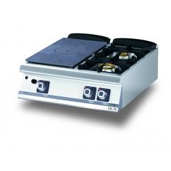 Plaque de cuisson - Plaque coup de feu avec 2 feux à gaz - Diamante 90 - Olis - D9410TCTGDX
