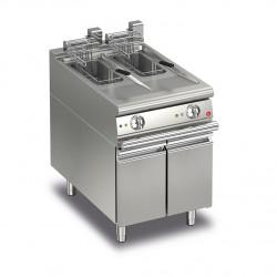 Friteuse électrique monobloc - 10 + 10 litres - Gamme Queen 700 - 70QFRIE610 - Baron