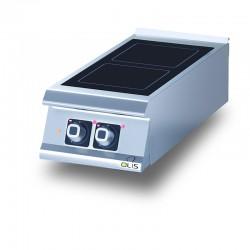 Elément top - Plaque vitrocéramique - 2 zones de chauffe - DIAMANTE 90 - OLIS - D9210TVTC