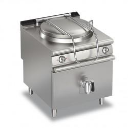 Marmite gaz ronde - 150 litres - Chauffe indirecte - Gamme Queen 900 - 90QPFGI150A - Baron