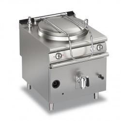 Marmite gaz ronde - 145 litres - Chauffe indirecte - Gamme Queen 900 - 90QPFGI150 - Baron