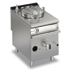 Marmite gaz ronde - 50 litres - Chauffe indirecte - Gamme Queen 900 - 90QPFGI650 - Baron