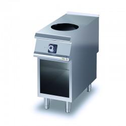 Wok induction sur placard ouvert - DIAMANTE 90 - OLIS - D9210GCIW