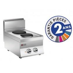 Plaque de cuisson - 2 plaques électriques - Gamme 650 - Baron