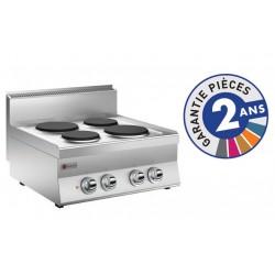 Plaque de cuisson - 4 plaques électriques - Gamme 650 - Baron
