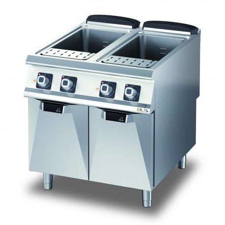 Cuiseur à pâte gaz - 2 x 40 litres - DIAMANTE 90 - OLIS - D9410CPG