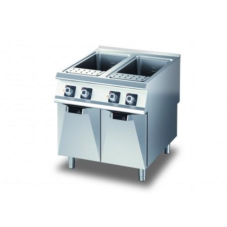 Cuiseur à pâte électrique - 2 x 40 litres - DIAMANTE 90 - OLIS - D9410CPE