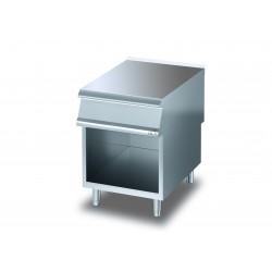 Elément neutre - Sur placard ouvert avec tiroir - DIAMANTE 90 - OLIS - D9310ENC