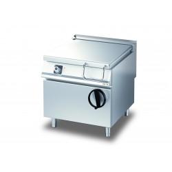 Sauteuse basculante à relevage manuel avec cuve en INOX AISI 304 - 80 litres - DIAMANTE 90 - OLIS - D9410KBEI