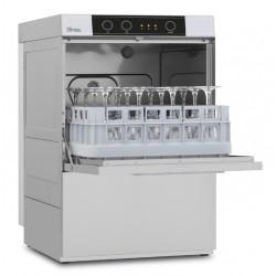Lave-verres avec pompe de vidange sans adoucisseur - 8 litres - STEELTECH V1 - Panier 390 x 390 mm - STEEL340PV1 - COLGED