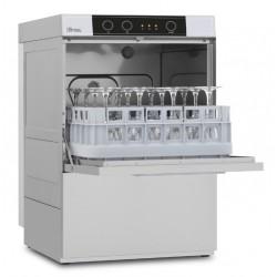 Lave-verres avec pompe de vidange et adoucisseur - 8 litres - STEELTECH V1 - Panier 390 x 390 mm - STEEL340APV1 - COLGED