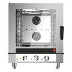 Four mixte électrique à injection de vapeur - 7 niveaux GN 1/1 et 600 x 400 - Horizon 3 - HOE071M - Baron