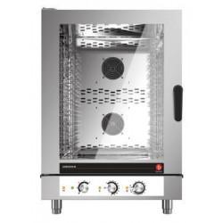 Four mixte électrique à injection de vapeur - 10 niveaux GN 1/1 et 600 x 400 - Horizon 3 - HOE101M - Baron