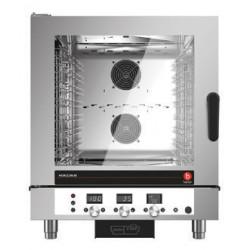 Four mixte électrique à injection de vapeur - 7 niveaux GN 1/1 et 600 x 400 - Horizon 3 - HOE071D - Baron