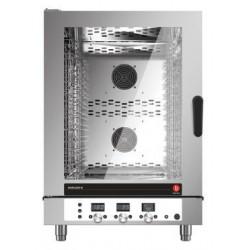 Four mixte électrique à injection de vapeur - 10 niveaux GN 1/1 et 600 x 400 - Horizon 3 - HOE101D - Baron