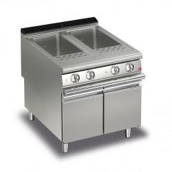 Cuiseur à pâtes électrique - 2 x 42 litres - Gamme Queen 900 - 90QCPE800 - Baron
