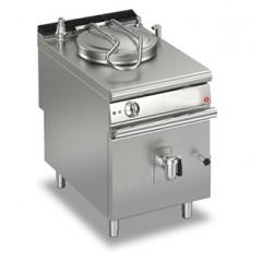 Marmite gaz ronde - 50 litres - Chauffe directe - Gamme Queen 900 - 90QPFG650 - Baron