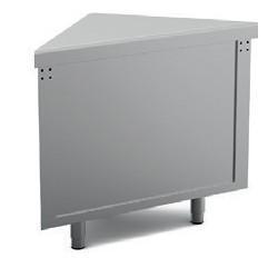 Meuble d'angle extérieur ouvert - SELF-SERVICE 750 - SEAE90 - Nosem