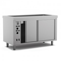 Table bain-marie avec étuve - SELF-SERVICE 750 - SEBE1125 - Nosem