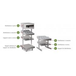 Support plateaux et support de distribution - SELF-SERVICE 750 - SET - Nosem